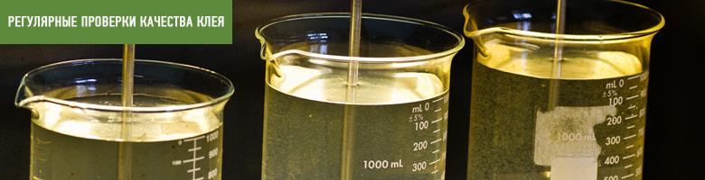 Проверка качества полиуретанового клея