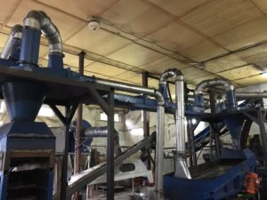 Цех по производству ковриков для коров