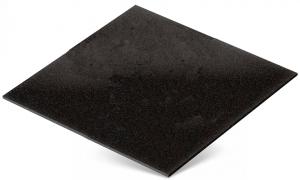 Резиновая плитка 1000х1000мм, чёрная