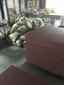 Коврики для коров - производство