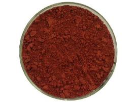 Пигмент для резиновой крошки красный
