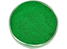 Пигмент для резиновой крошки зелёный