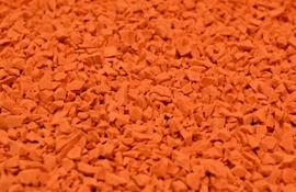 EPDM крошка оранжевая