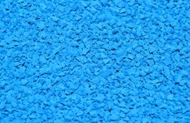 EPDM крошка голубая