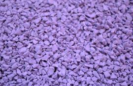 EPDM крошка фиолетовая